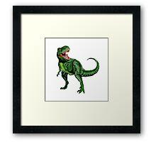 Tyrannosaurus Dinosaur Framed Print