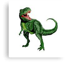 Tyrannosaurus Dinosaur Canvas Print