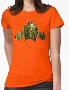 Cacnea used Needle Arm Womens Fitted T-Shirt