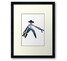 Deoxys used Psychic Framed Print