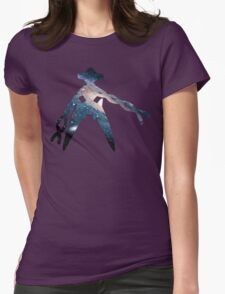 Deoxys used Psychic Womens Fitted T-Shirt