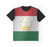 Tajikistan flag Graphic T-Shirt
