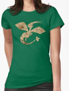 Flygon used Sandstorm Womens Fitted T-Shirt