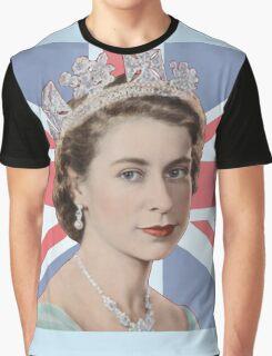 QUEEN ELIZABETH Graphic T-Shirt