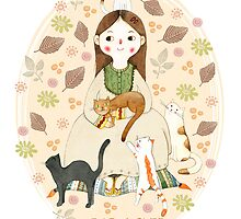 Cat Lover by Judith Loske