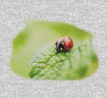 ladybug red green One Piece - Short Sleeve