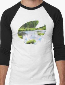Lotad used Absorb Men's Baseball ¾ T-Shirt