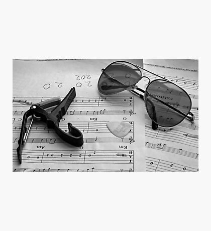 The music is just too cool Photographic Print