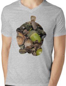 Seedot used Nature Power Mens V-Neck T-Shirt