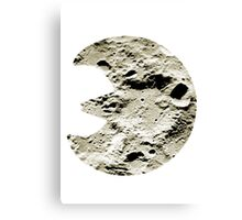 Lunatone used Stone Edge Canvas Print