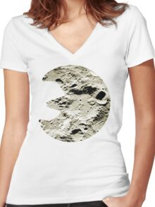 Lunatone used Stone Edge Women's Fitted V-Neck T-Shirt