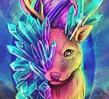 Crystal Deer by retkikosmos