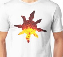 Solrock used Fire Spin Unisex T-Shirt