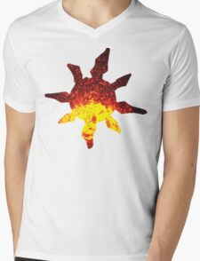 Solrock used Fire Spin Mens V-Neck T-Shirt