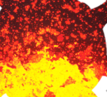 Solrock used Fire Spin Sticker