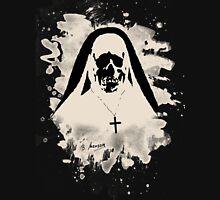 Scary Nun – creme white Unisex T-Shirt