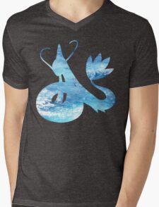 Milotic used Aqua Ring Mens V-Neck T-Shirt