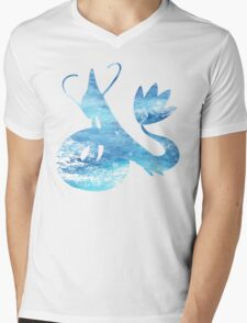 Milotic used Aqua Ring Mens V-Neck T-Shirt
