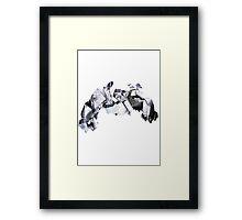 Metagross used Meteor Mash Framed Print