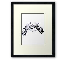 Metagross used Meteor Mash Framed Print