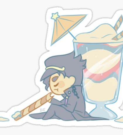 "Jojo Dessert Stickers 4/6 ""Jotaro"" Sticker"