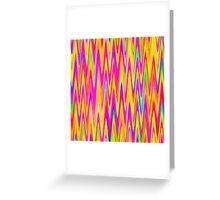 WAVY-1 (Multicolor Light)-(9000 x 9000 px) Greeting Card