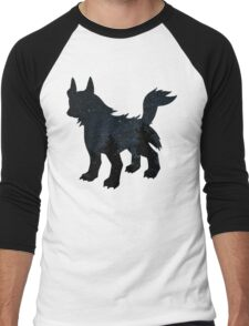 Mightyena used Dark Pulse Men's Baseball ¾ T-Shirt