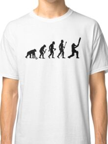 Evolution Of Man and Cricket Classic T-Shirt