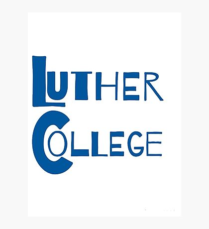 Luther College Photographic Print