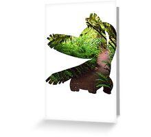 Tropius used Leaf Storm Greeting Card