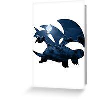 Salamence used Dragon Tail Greeting Card