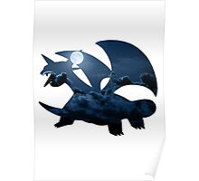 Salamence used Dragon Tail Poster