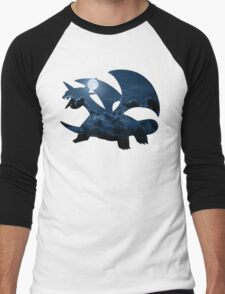 Salamence used Dragon Tail Men's Baseball ¾ T-Shirt