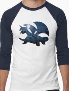 Salamence used Dragon Tail Men's Baseball ¾ T-Shirt