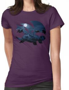 Salamence used Dragon Tail Womens Fitted T-Shirt