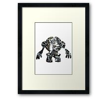 Registeel used Iron Head Framed Print