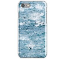 Tuna and birds busting iPhone Case/Skin