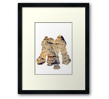Regirock used Ancient Power Framed Print
