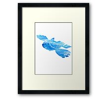 Kyorge used Water Spout Framed Print