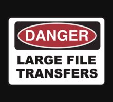 Danger: Large File Transfers by erindizmo