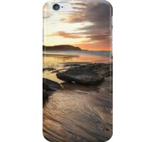 Frazer beach sunrise iPhone Case/Skin