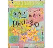 You Are Healed--Affirmations From Abba iPad Case/Skin