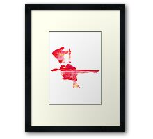 Latias used Mist Ball Framed Print