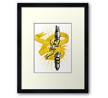 Who'd Have Sonic? - Doctor Who Framed Print