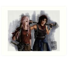 Final Fantasy 13 - The Last of Us Art Print