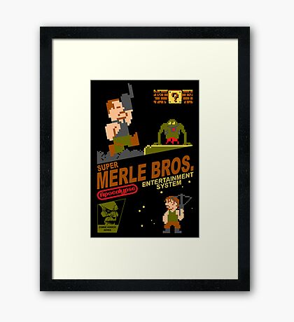 Super Merle Brothers Framed Print