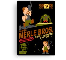 Super Merle Brothers Canvas Print