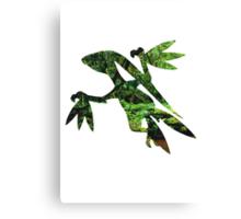 Grovyle used Leaf Blade Canvas Print
