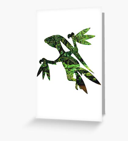 Grovyle used Leaf Blade Greeting Card