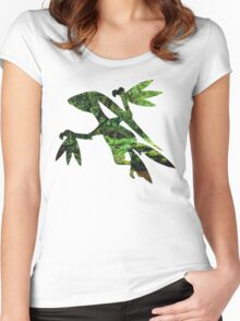 Grovyle used Leaf Blade Women's Fitted Scoop T-Shirt
